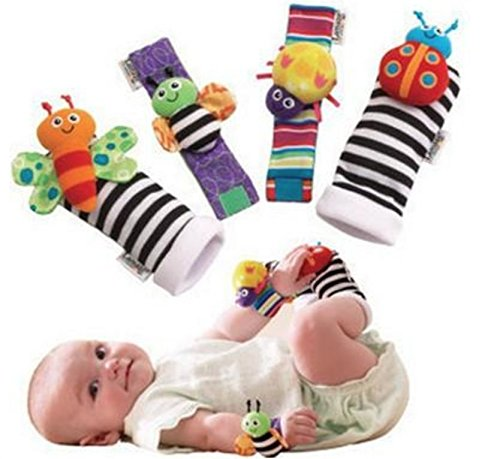Blige SMTF Cute Animal Soft Baby Socks Toys