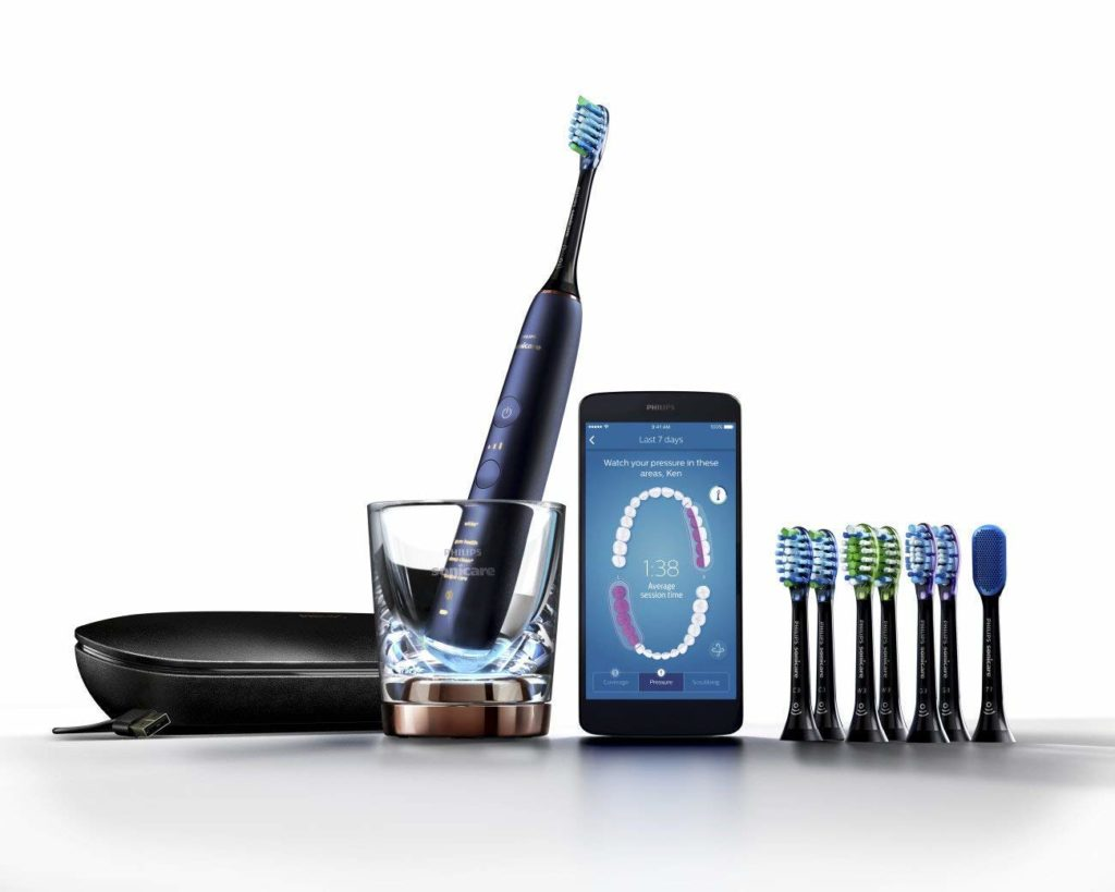 Philips Sonicare DiamondClean Smart 9700 Rechargeable Electric Toothbrush