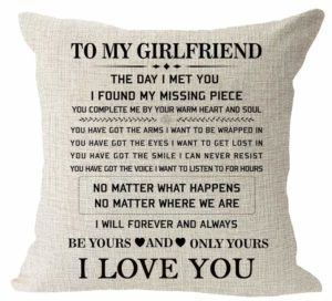 pillow to my gf