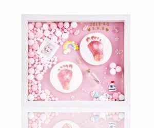 Baby Hand and Footprint Kit for Newborn Girls