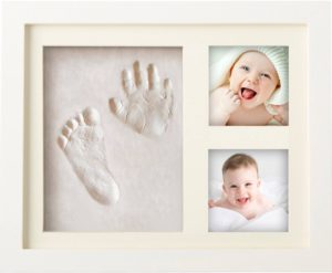 MyMiniJoy Newborn Baby Handprint and Footprint Picture Frame Kit