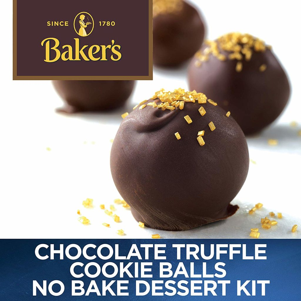 Chocolate Truffle Cookie Balls No Bake Dessert Kit