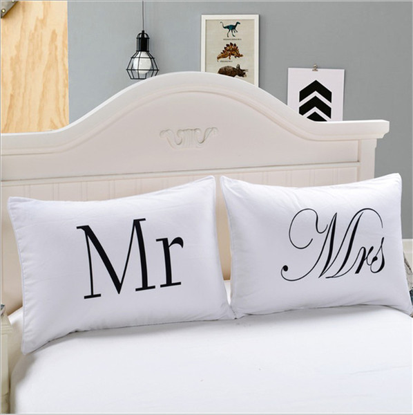 Warmht Couples Pillowcases Romantic Gifts for Him for Her for Valentines Day, Anniversary