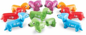 Learning Resources Snap-N-Learn Rhyming Pups Toy