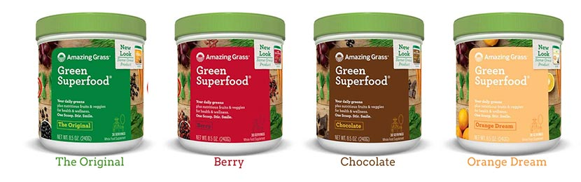 Amazing Grass Berry Flavor Drink Powder Review
